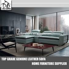 Genuine Leather Furniture Manufacturers Modern Euro Design Leather Sofa Modern Euro Design Leather Sofa
