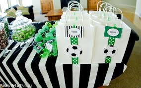 soccer party supplies paisley petal events soccer party favor bags paper crush