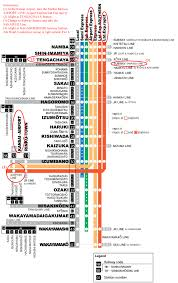 Osaka Subway Map by Osaka Venue