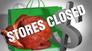 update a list of stores closed on thanksgiving day