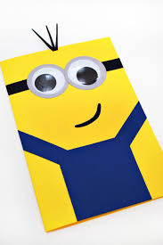 diy make this super cute minions mother u0027s day card fandango