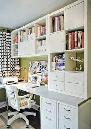 Craft Room Office - office built in craft room wishlist pinterest room craft