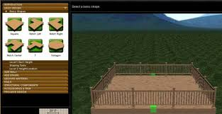 Free Wooden Deck Design Software by Deck Design Software