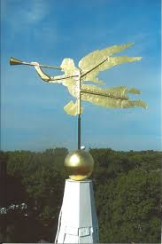Horse Weathervane On Stand Iconic Angel Gabriel Weathervane Replica Installed On South End