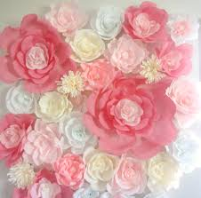 wedding backdrop etsy popular items for paper flower wall on etsy display 4ft x