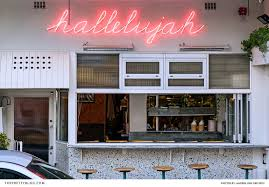 hanging out at the distinctly funky hallelujah cape town
