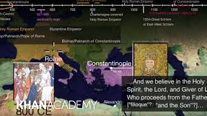 great schism or east west schism part 2 world history khan