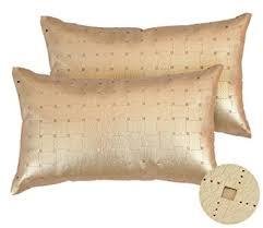 coussin rectangulaire pour canapé deconovo housse de coussin rectangulaire simili cuir doux