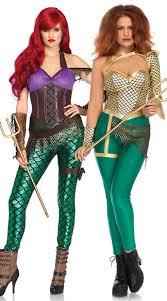 Rebel Halloween Costume Warriors Duo Costume Rebel Mermaid Costume Warrior Mermaid