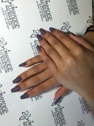 paradise nail bar salon desert shores coffin shaped nails