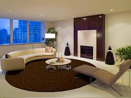 Cream Round Rug by How To Decorate Decorating With Two Rugs Ideas Penaime