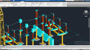 substation design connections wires tubes and clamps youtube