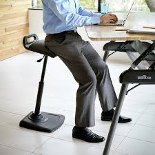 Standing To Sitting Desk Standing Desk Office Chair Varichair Varidesk Chairs Stools