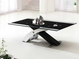 modern black end table coffee tables ideas futuristic designs coffee table black glass