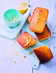 cuisine plus recettes mini cakes polenta citron pour 6 personnes recettes à table