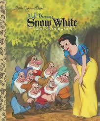 snow white and the seven dwarfs disney princess golden