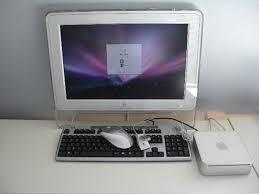 ordinateur de bureau apple ordinateur de bureau comprenant unité centrale apple mar mini écran