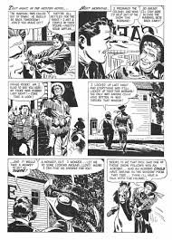 the alex toth archives toth western roundup 18 hidden treasure