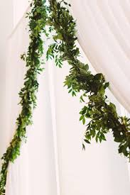 Wedding Arch Greenery Real Wedding Elegance In Uptown Charlotte At The Mint Museum