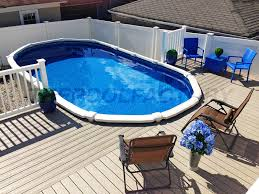 41 best semi inground pools images on pinterest semi inground