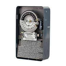 Intermatic Timers Dimmers Switches U0026 by Tork 208 277 Volt 24 Hour Mechanical Time Switch 1104b The Home