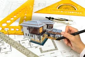 hand draw blueprint of a house stock photo picture and royalty