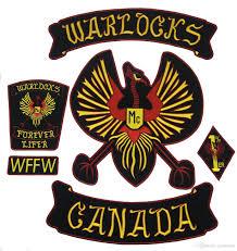 biker vest new arrival warlocks motorcycle patch 1 biker rider vest mc