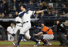 judge s homer helps yankees even alcs with astros