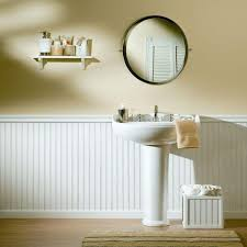bathroom ideas with wainscoting bathroom with wainscoting beadboard bathroom wall panels