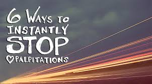 heart racing and light headed 6 ways to instantly stop heart palpitations life off beat