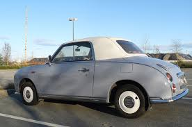 nissan figaro this cute nissan figaro is a japanese unicorn