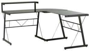 bureau metal et verre type bureau d angle meuble bureau et ordinateur pas cher but fr