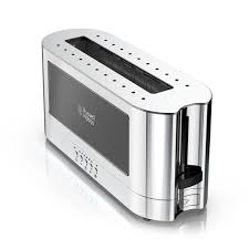 Russell Hobbs Toaster Heritage 2 Slice Stainless Steel Long Toaster Black Glass Russell Hobbs