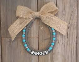 personalized horseshoes name sign for kids horseshoe decor personalized shoe
