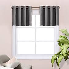 Grommet Top Valances Grommet Valances Amazon Com