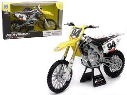 toy motocross bikes amazon com suzuki rm z450 94 ken roczen dirt bike motorcycle 1 6