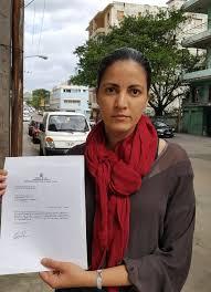 Seeking Rosa Dissident Leader Rosa Paya Is In Cuba Seeking Justice For