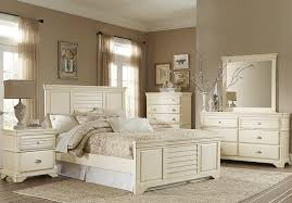 laurinda antique white panel bedroom set from homelegance