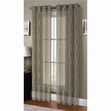 window elements sheer boho embroidered sheer faux linen 96 in l