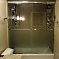 Plexiglass Shower Doors Etched Sandblasted Shower Doors Creative Mirror Shower