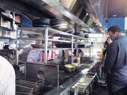 Restaurant Kitchen Layout Ideas Fascinating Burger Restaurant Kitchen Layout Exquisite Open Inside