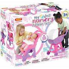 Baby Doll High Chair Set My Nursery 2 Piece Doll Nursery Set Includes High Chair And