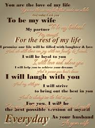 Short Marriage Quotes Wedding Vows Examples Funny Full Wedding Magazine