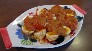 membuat nasi goreng cur telur sambal goreng telur indonesian eggs in chili coconut sauce youtube