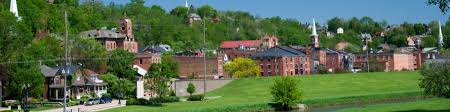 Galena Illinois Map by Galena Illinois Wikitravel