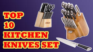top 10 kitchen knives 10 best kitchen knives set 2017 best kitchen knives set reviews