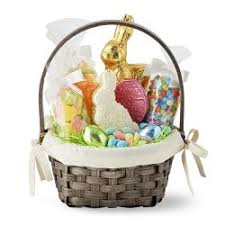 filled easter baskets easter candy cakes cookies williams sonoma
