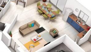 faire une cuisine en 3d cuisine plan maison contemporaine ah tuiles villas de en
