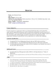 Address On Resume Resume Amit Sales 6 Yrs