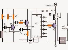simple on off remote control circuit diagram hindi circuit